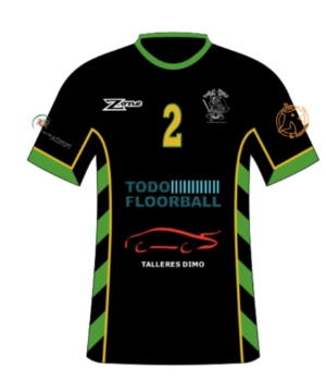 FLOORBALL ESCORIAL ALEVIN - uniforme 1